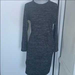 Soft cotton sweater dress